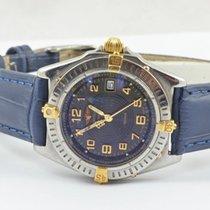 Breitling Sirius Perpetual Damen Uhr Stahl/gold Perlmutt Top...