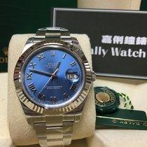 Rolex Cally - 116334 Datejust II Blue Roman Dial 41mm [NEW]
