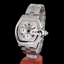 Cartier roadster steel chrono automatic men size