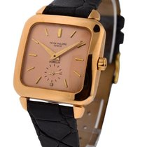 Patek Philippe 2540R Ref 2540 - Square Shaped Gents Watch Rose...
