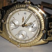Breitling Chronomat Chrono 18K Solid Gold Diamond Limited 194...