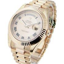 롤렉스 (Rolex) Unworn 218235 Day-Date II President in Rose Gold -...