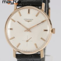 Longines Vintage 34mm Yellow Gold 18K 1970's Caliber 490
