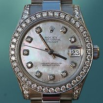 Rolex Watch Mens Ladies Midsize 31mm Datejust 178240 Stainless...