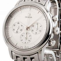 Omega De Ville Prestige Chronograph Handaufzug Stahl an...
