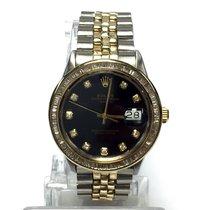 Rolex Oyster Perpetual Date 2 Tone Men's/unisex Watch In Box