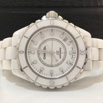 Chanel J12 Cerâmica 38mm Automatico Com Diamantes