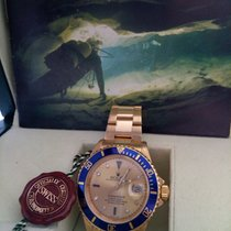 Rolex Submariner  Gold Sultan