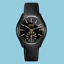 Rado Hyperchrome Ceramic Touch Dual Timer - Black -NEU-