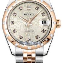 ロレックス (Rolex) Datejust 31mm Stainless Steel and Rose Gold...