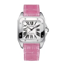 Cartier Santos 100 Automatic Mid-Size Watch Ref W20126X8