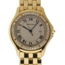 Cartier Panthere Cougar 32mm Yellow Gold B&P/2YrWarranty...