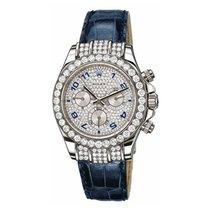 Rolex Daytona White Gold Factory Diamonds Watch