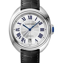 Cartier WSCL0018 Cle de Cartier 40mm in Steel - on Black...
