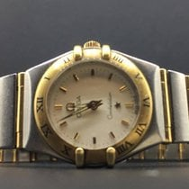 Omega Constellation Ladies 22mm Two Tone Yellow Gold &...