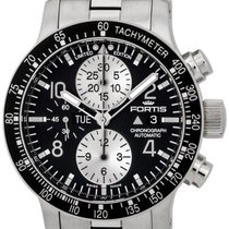 Fortis Stratoliner Chronograph Automatic Steel Mens Watch...