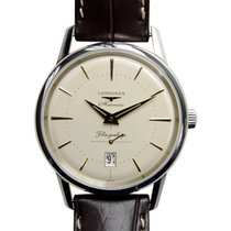 Longines Heritage Stainless Steel Silver Automatic L4.795.4.78.2