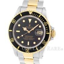 "Rolex Submariner Date Yellow Gold Steel 40MM ""9M Series"""