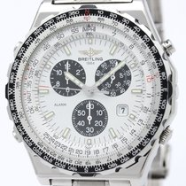 Breitling Jupiter Pilot Chronograph Steel Quartz Watch A59028...