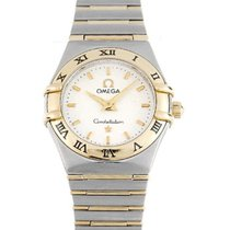 Omega 1262.30 Constellation 95 Mini in 2-Tone - on Steel and...