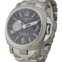 Panerai PAM00161 PAM 161 - Luminor GMT in Steel and Titanium -...