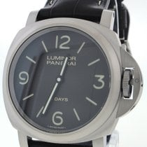 Panerai Luminor Base 8 Days Acciaio PAM00562 Mechanical Black