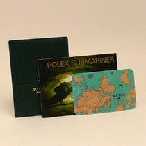 Rolex Submariner Date Booklet Set 1999 Spanish