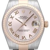 ロレックス (Rolex) Datejust 31 Edelstahl Everose Oyster-Band Pink R