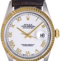 Rolex Datejust 2-Tone Men's 16013 Steel & 18k Gold Watch