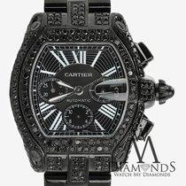 까르띠에 (Cartier) Black Diamond Cartier Roadster Xl W62020x6...