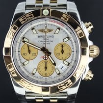 Μπρέιτλιγνκ  (Breitling) Chronomat 41mm Gold/Steel White Dial,...