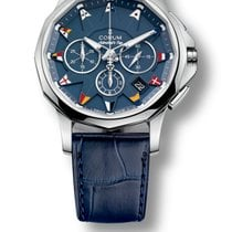 Corum Admiral's Cup Legend 42mm Steel Chronograph
