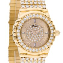 Piaget 16039M426 Tanagra in Yellow Gold with Diamond Bezel -...