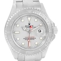 Rolex Yachtmaster Stainless Steel Platinum Automatic Mens...