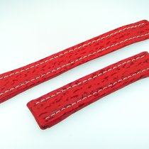 Breitling Band 19mm Hai Rot Red Roja Shark Strap Correa Für...