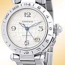 "Cartier ""35mm Pasha GMT Dual Time""."