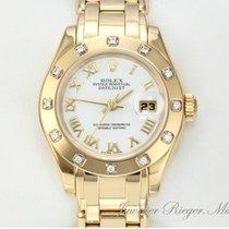 Rolex Pearlmaster Datejust 80318 Gelbgold 750 Diamanten