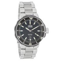 Oris Pro Diver Mens Titanium Swiss Automatic Watch 73376827154MB