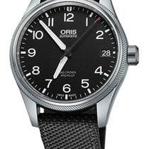 Oris Big Crown ProPilot Date, Black Dial, Black Bracelet