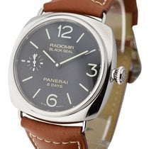 Panerai PAM00609 PAM 609 - Black Seal Radiomir 8 Days - Steel...