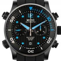 Mido Multifort Diver Stahl Black Automatik Chronograph Armband...