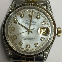 Rolex unisex wristwatch, 36 mm, gold and steel, personalised,...