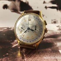 Helvetia Vintage swiss watch  Chronograph manual winding Oversize