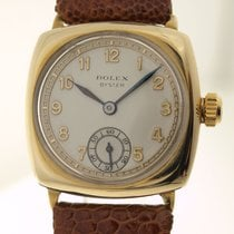 Rolex CUSHION OYSTER IN GOLD - ART DECO Armbanduhr