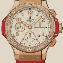 Hublot Big Bang 41 MM Red Gold Diamonds