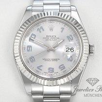 Rolex Datejust II 116334 Stahl Weissgold 750 Automatik Date Just