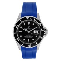 Rolex Submariner 16610 Stainless Steel Watch Black Dial