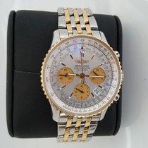 Breitling Navitimer Chronometre D23322 Steel 2008 White 42mm