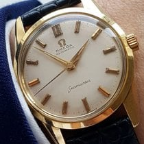 Omega Perfect Omega Seamaster Automatic Solid Gold Date 14ct