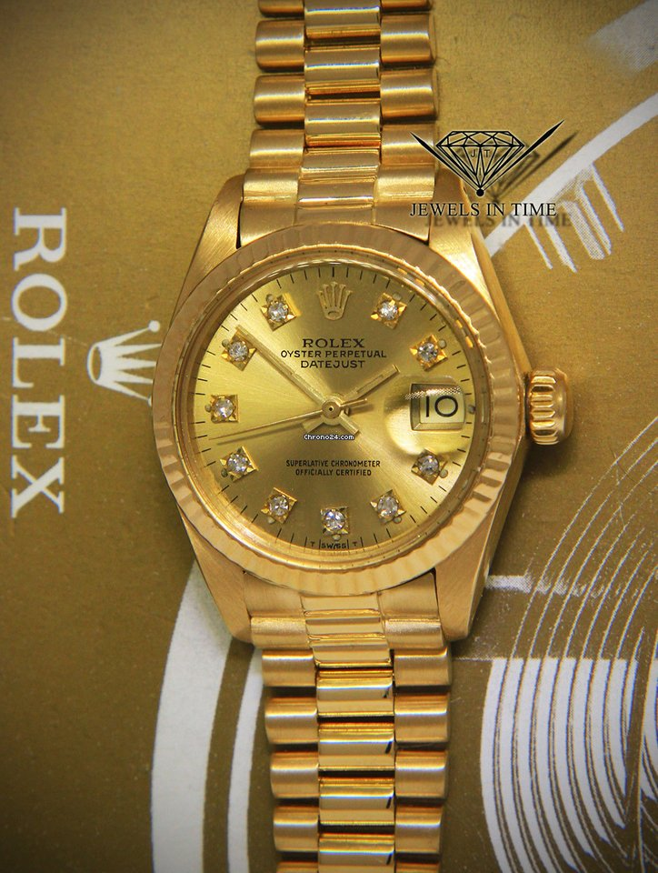 a56f1a12ace Rolex Datejust President 18k Yellow Gold Diamond Dial Ladies... for  RM24